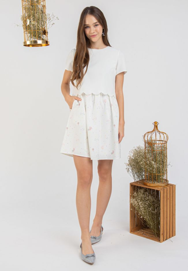 LITTLE TWIN STARS CONSTELLATIONS DRESS