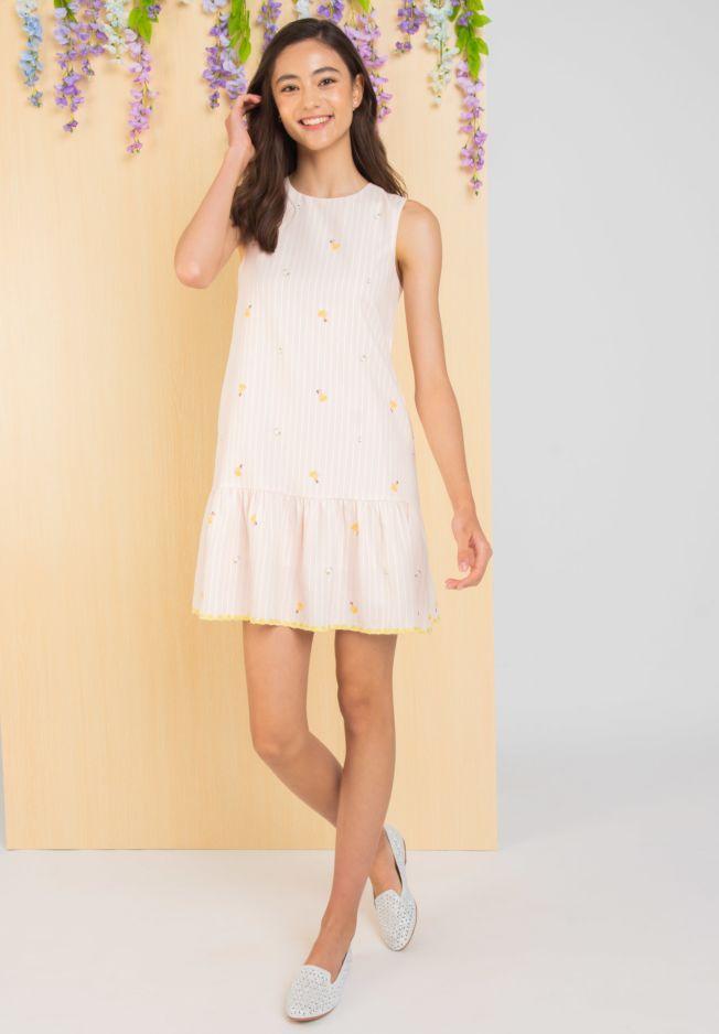 PRINCESS BELLE STRIPE DRESS