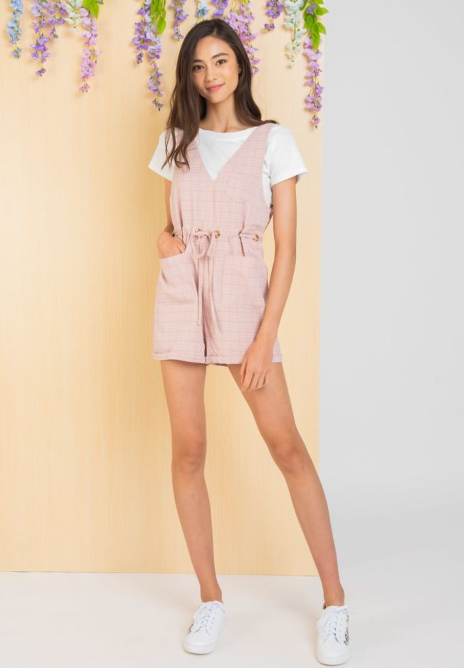 KEIRS TWO-PCS ROMPER