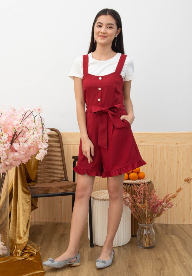 ISABE TWO-PCS ROMPER