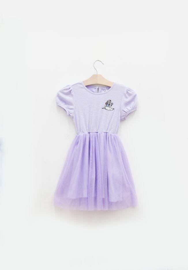 PRINCESS SNOW WHITE EMBROIDERY DRESS - KIDS